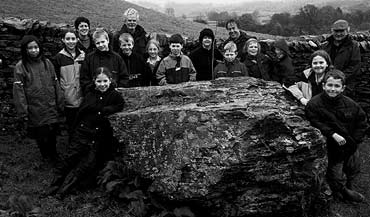 Andy Goldsworthy and children
